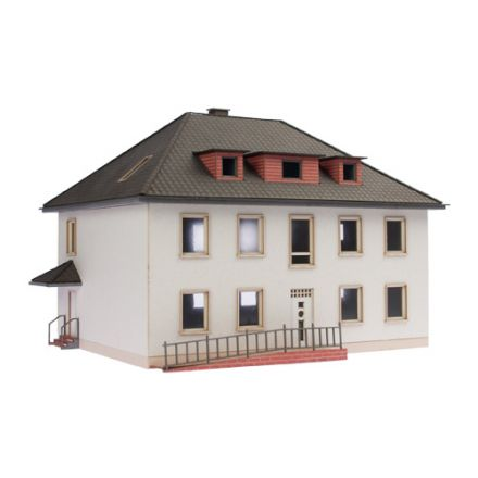"Unique Laser-Cut Building Kit - Dwelling house ""Sonja"" - L: 171mm x B: 136mm x H: 140mm - H0 (1:87) - (01-03-003)"