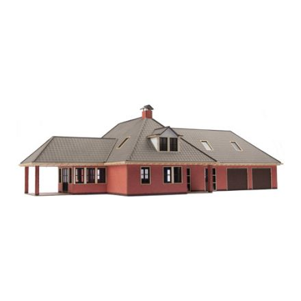 "Unique Laser-Cut Building Kit - Dwelling house ""De Esch"" - L: 300mm x B: 173mm x H: 100mm - H0 (1:87) - (01-03-004)"