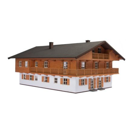 "Unique Laser-Cut Building Kit - Inn ""Hirschberg"" - L: 275mm x B: 173mm x H: 100mm - H0 (1:87) - (01-03-005)"