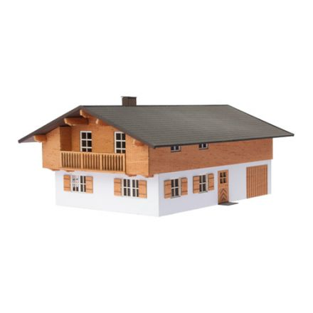 "Unique Laser-Cut Building Kit - Inn ""Traube"" - L: 215mm x B: 160mm x H: 100mm  - H0 (1:87) - (01-03-006)"