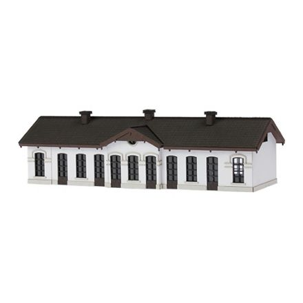 "Unique Laser-Cut Building Kit - Station ""Mill"" - L: 163mm x B: 57mm x H: 43mm - N (1:160) - (02-05-003)"