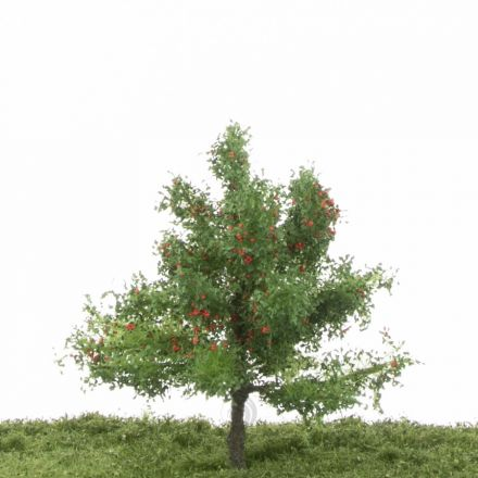 Silhouette Appletree - Summer - 1 (ca. 12-16cm) - H0 (1:87) - (226-42)