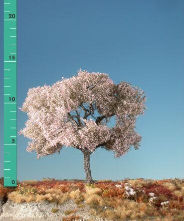 Silhouette Cherry tree - Pink - 1 (ca. 10-13cm) - H0 (1:87) - (227-15)