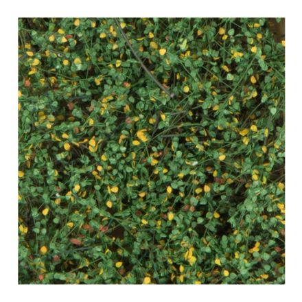 Silhouette shrubbery - early fall - 12 x 14 cm - (250-43)