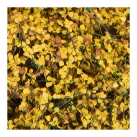 Silhouette shrubbery - Late fall yellow  - 12 x 14 cm - (250-44)