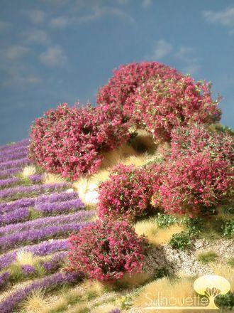 Silhouette Rhododendron - Magenta - 0 (< ca. 8cm) - H0 (1:87) - (253-05)