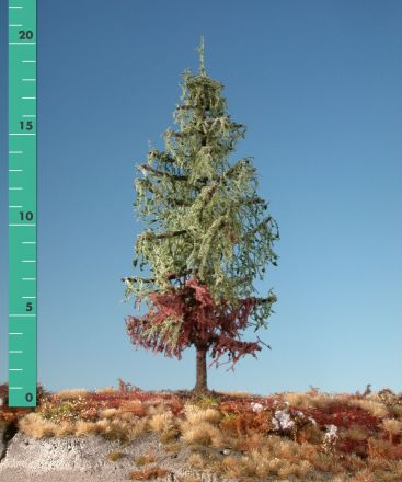 Silhouette Weathered larch - Summer - 3 (ca. 22-29cm) - H0 (1:87) - (279-36)