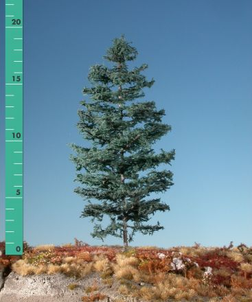 Silhouette Nordic fir - Summer - ca. 42cm - 0-1 (1:45+) - (376-42)