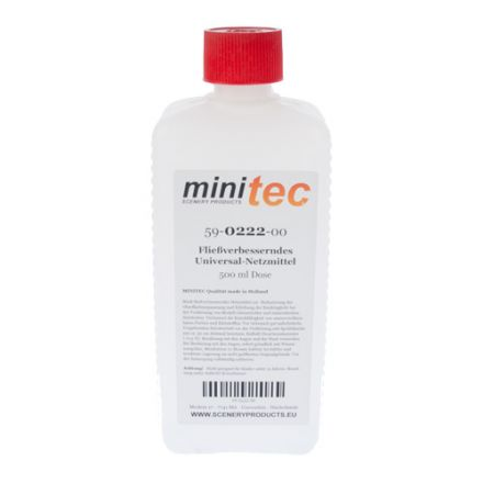 Minitec Flow Improver Universal-Wetting Agent - 500 gr bottle - (59-0222-00)