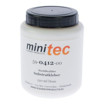 Minitec Highly flexible Substrate adhesive - (Cess/Ballast shoulder) - 120 gr container - (59-0412-00)