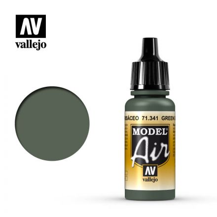 Vallejo Model Air - Green Grey - 17 ml - (71.341)
