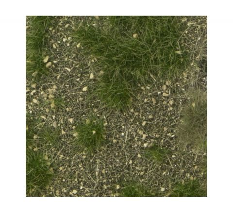 miniNatur Calcareous meadow - Summer - ca.8 x 15 cm - H0 (1:87) - (719-22MS)