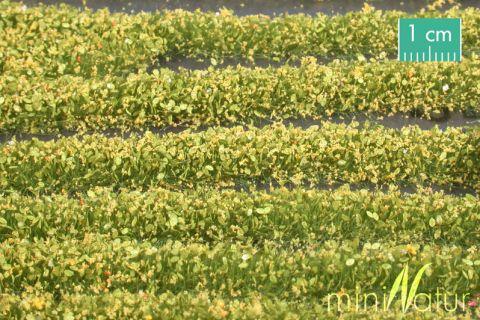miniNatur Blossem strips - Yellow - ca. 336cm - H0 (1:87) - (731-22)