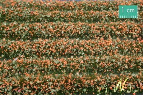 miniNatur Blossem strips - Orange - ca. 336cm - H0 (1:87) - (731-25)