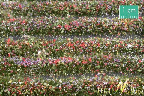 miniNatur Blossem strips - Colourful - ca. 336cm - H0 (1:87) - (731-29)