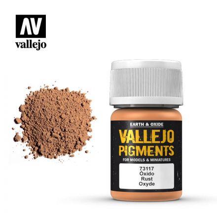 Vallejo Pigments - Hell Braun Eisenoxid - 30 ml - (73.117)