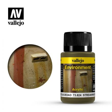 Vallejo Weathering Effects - Streaking Grime - 40 ml - (73.824)