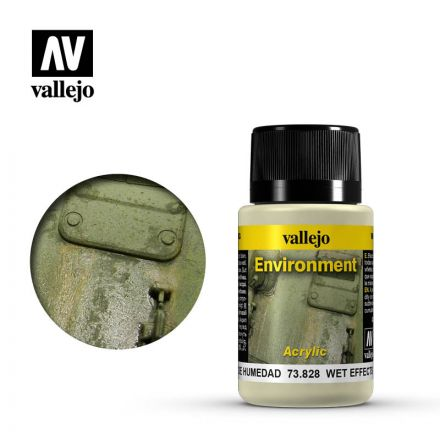 Vallejo Weathering Effects - Wet Effect - 40 ml - (73.828)