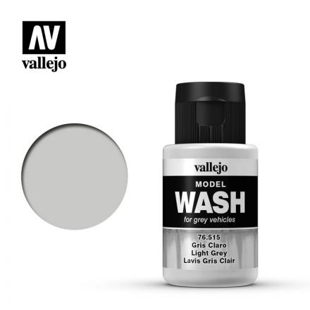 Vallejo Model Wash - Light Grey - 35 ml - (76.515)