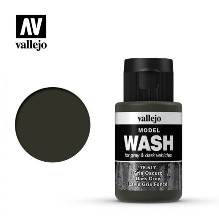 Vallejo Model Wash - Dark Grey - 35 ml - (76.517)