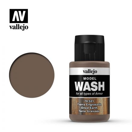 Vallejo Model Wash - Oiled Earth - 35 ml - (76.521)