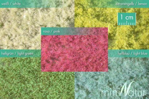 miniNatur Groundcover, white - Spring - ca. 15x8cm - H0 (1:87) - (791-20S)